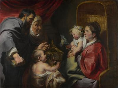 The Virgin and Child with Saints Zacharias, Elizabeth and John the Baptist, C. 1620