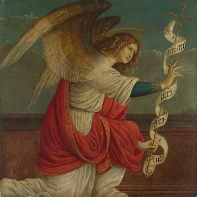 Archangel Gabriel (Panel from an Altarpiece: the Annunciatio), before 1511