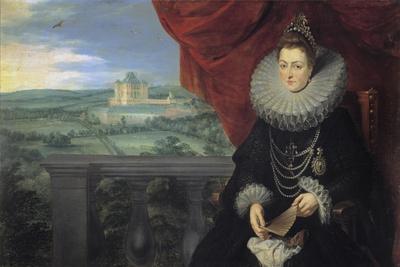 Portrait of Infanta Isabella Clara Eugenia of Spain (1566-163), C. 1615