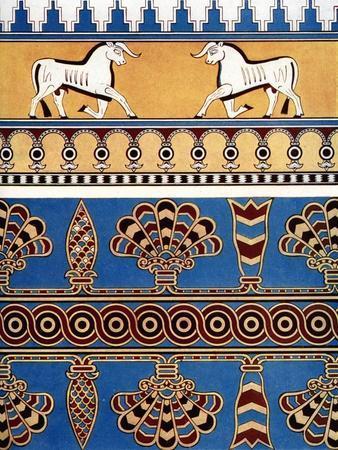 Assyrian Brick and Tile Design, 1933-1934