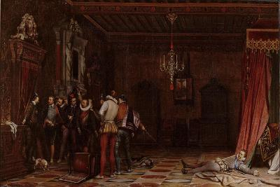 The Assassination of the Duke of Guise at the Château of Blois in 1588, 1834