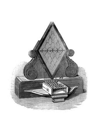 William Cooke and Charles Wheatstone's Five-Needle Telegraph, Patented 1837