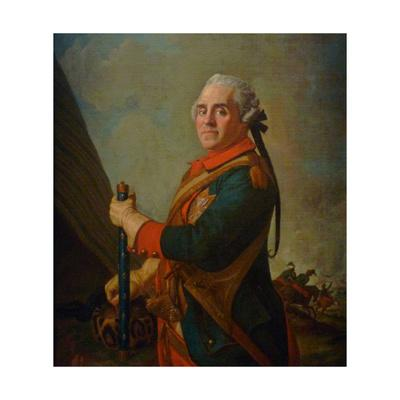 Portrait of Maurice De Saxe, Marshal of France, 18th Century