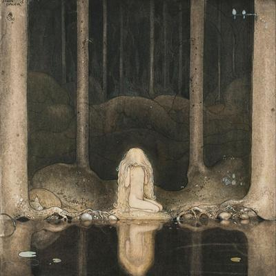 Princess Tuvstarr Is Still Sitting There Wistfully Looking into the Water, 1913