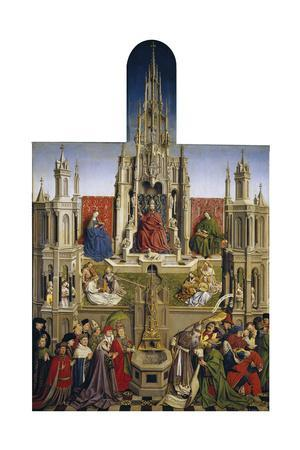 The Fountain of Grace and the Triumph of Ecclesia over the Synagogue, 1430