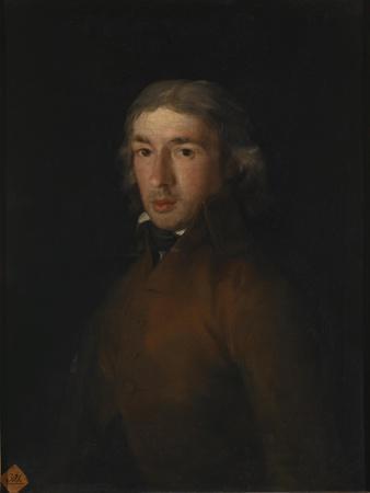 Portrait of Leandro Fernández De Moratín