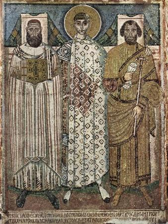 Saint Demetrius of Thessaloniki with the Donors, 6th-7th Century