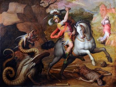 Saint George and the Dragon, C. 1560