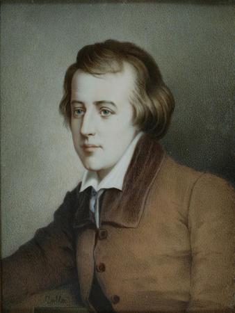 Portrait of the Poet Heinrich Heine (1797-185), Ca 1825