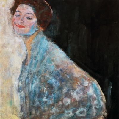 Portrait of a Lady in White (Unfinishe), 1917