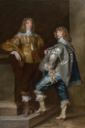 Lord John Stuart and His Brother, Lord Bernard Stuart, Ca 1638