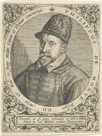 Portrait of the Composer Philippe De Monte (1521-160), C. 1598