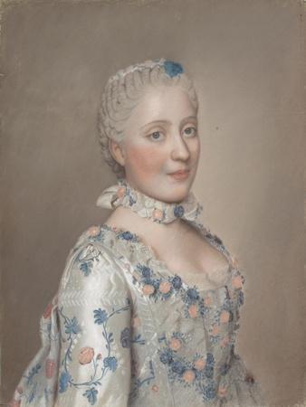 Portrait of Princess Maria Josepha of Saxony, 1749