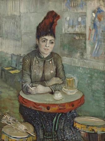 In the Café. Agostina Segatori in Le Tambourin, 1887-1888