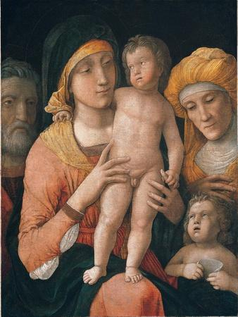 The Madonna and Child with Saints Joseph, Elizabeth, and John the Baptist