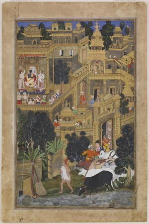 The Lord Krishna in the Golden City, Ca 1586