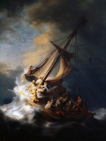 Christ in the Storm on the Lake of Galilee, 1633