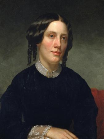 Portrait of Harriet Beecher Stowe (1811-189), 1853
