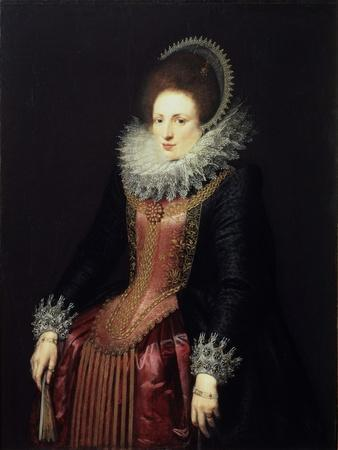 Portrait of a Lady with a Fan, 1610S
