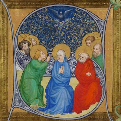 The Descent of the Holy Spirit (Pentecos), 1415