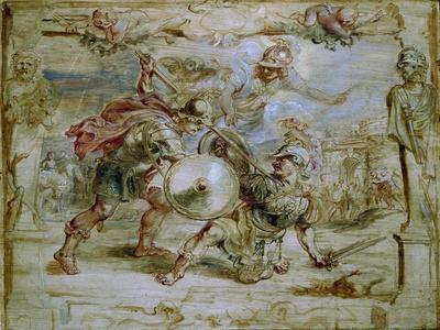 The Death of Hector, 1630-1635