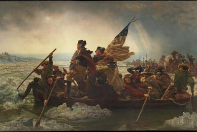Washington Crossing the Delaware, 1851