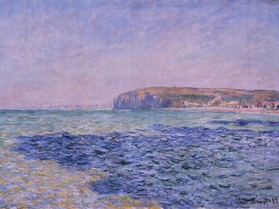 Shadows on the Sea, the Cliffs at Pourville, 1882