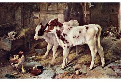 The Dog in the Manger, 1885