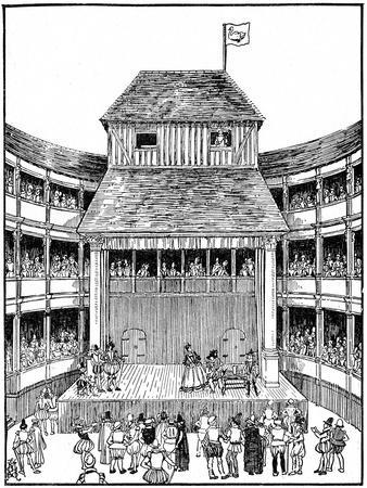 Theatre or Playhouse in the Time of Elizabeth I