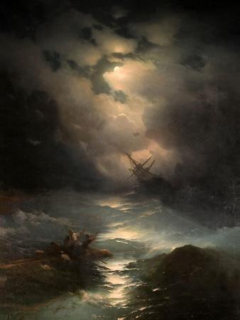North Sea Storm, 1865