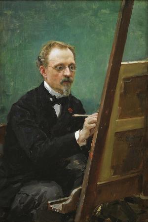 Portrait of Federico De Madrazo, 1875