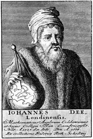 John Dee, English Alchemist, Geographer and Mathematician, C1590 (18th Centur)