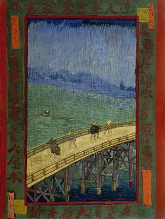 Bridge in the Rain (After Hiroshig), 1887