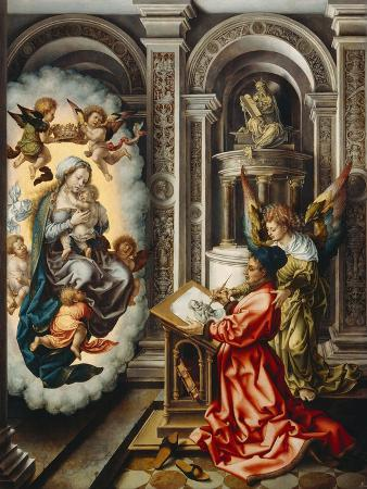 Saint Luke Painting the Madonna, C. 1520