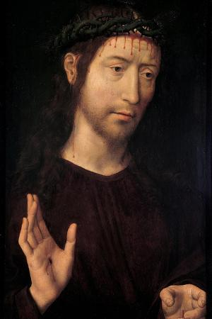 The Man of Sorrows Blessing, 1480-1490
