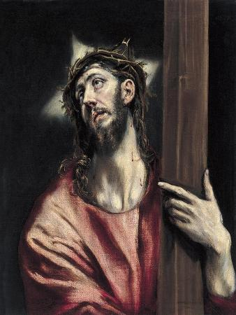 Christ with the Cross, Ca. 1587-1596