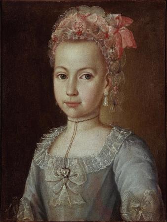 Portrait of Anna Lermontova, 1776
