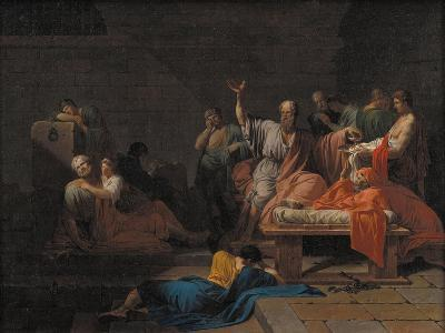 The Death of Socrates, Ca 1786