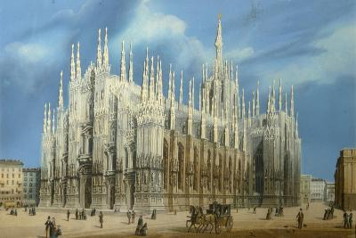 The Milan Cathedral, 1860S