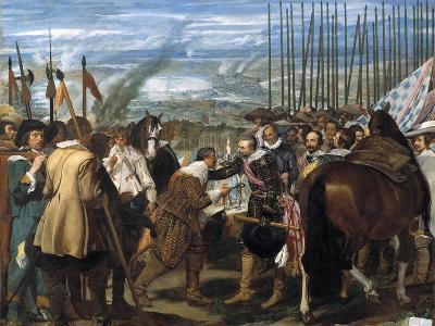 The Surrender of Breda (Las Lanza), 1635