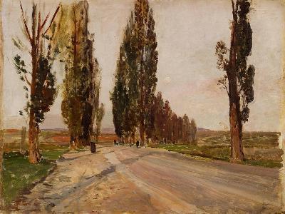 Boulevard of Poplars Near Plankenberg, C. 1890