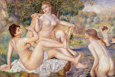 The Large Bathers, 1884-1887