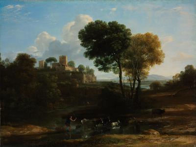 Villa in the Roman Campagna, 1646-1647