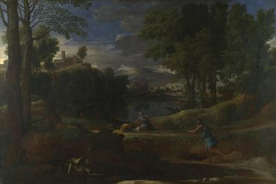 Landscape with a Man Killed by a Snake, 1648
