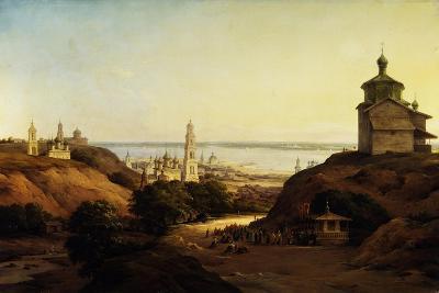 View of Yuryev-Povolzhsky, 1851