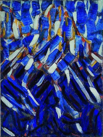 Abstraction (The Blue Mountai), 1912
