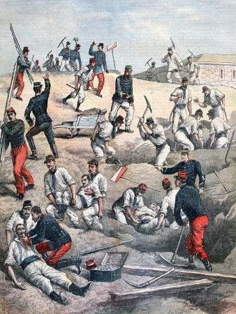 Rescue of the Victims at Aubervilliers Fort, 1892
