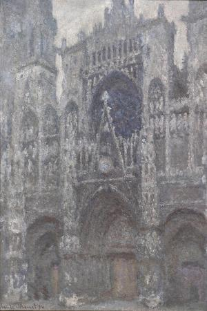 Rouen Cathedral. the Portal, Grey Weather, 1892