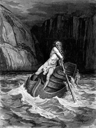 Arrival of Charon, 1857