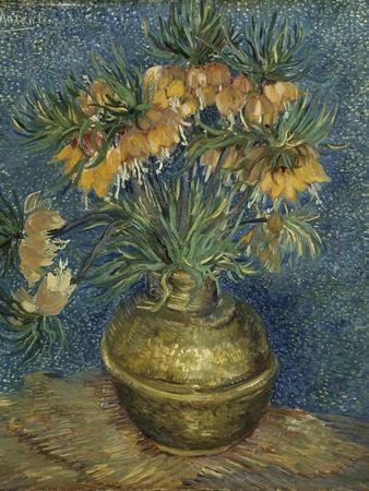 Imperial Fritillaries in a Copper Vase, 1887